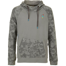 E9 Squ-C Fleece Heren, grey